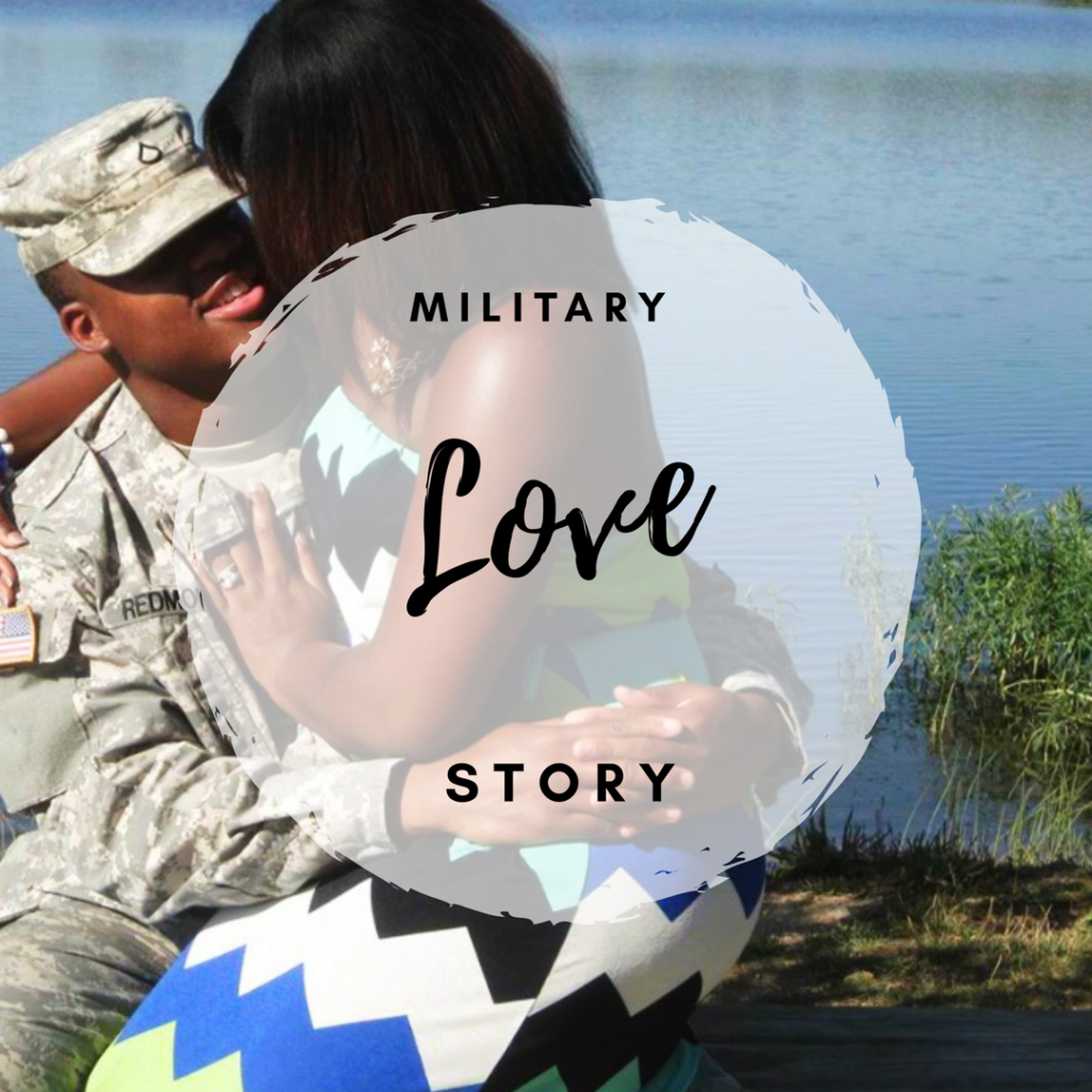 Military Love Story: Our Journey From Civilian to Military Family graphic
