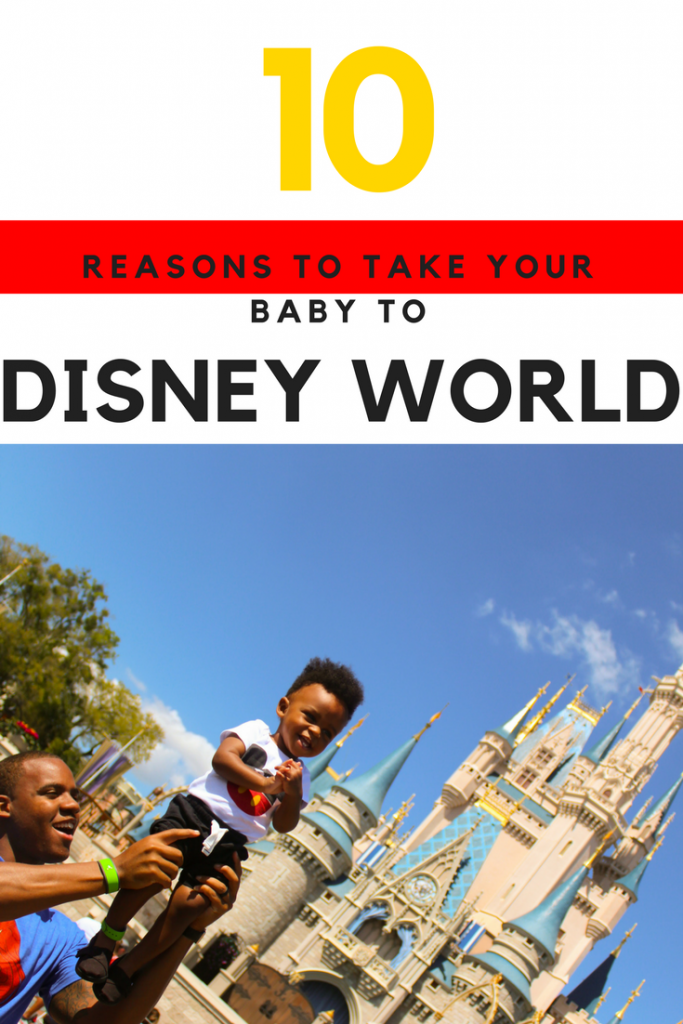 Here are 10 reasons to take your baby to Disney World. A lot people think taking baby to Disney World is an insane idea but that couldn't be further from the truth. Disney World can be enjoyed by a family of all ages and makes the perfect first birthday party idea. Disney World with baby or small kids can be a daunting task but it doesn't have to be with the right tips and tricks. Find out more on www.TheDailyImpressions.com