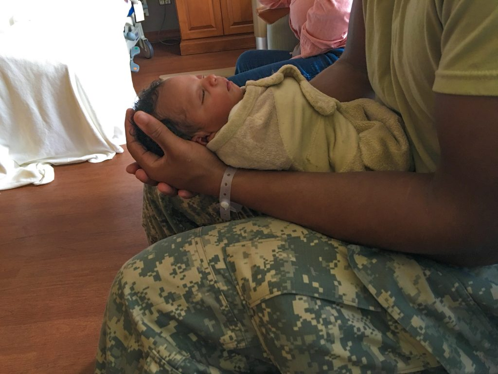 New Mom Tips from A Military Spouse