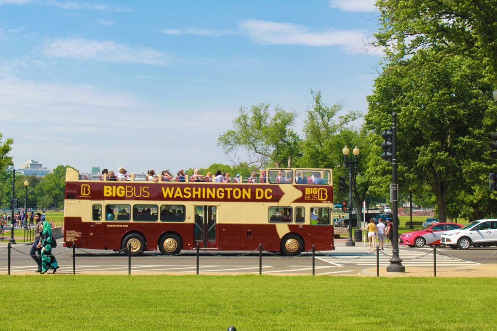 Big bus Tours in Washington DC