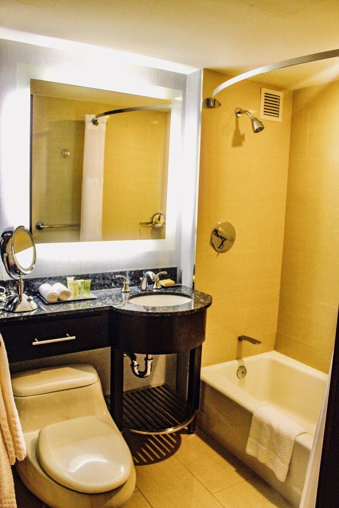 Washington Hilton Hotel Guest Room Bathroom