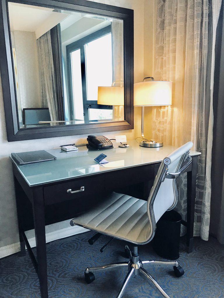 Washington Hilton Hotel Guest Room Desk Area