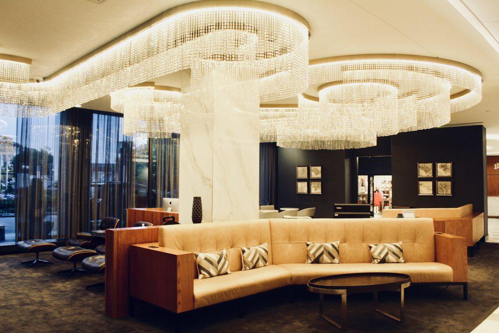 Washington Hilton Hotel Lobby Chandelier