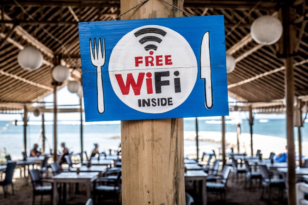tips for frist time cruisers: you can often find free wifi when you are in port