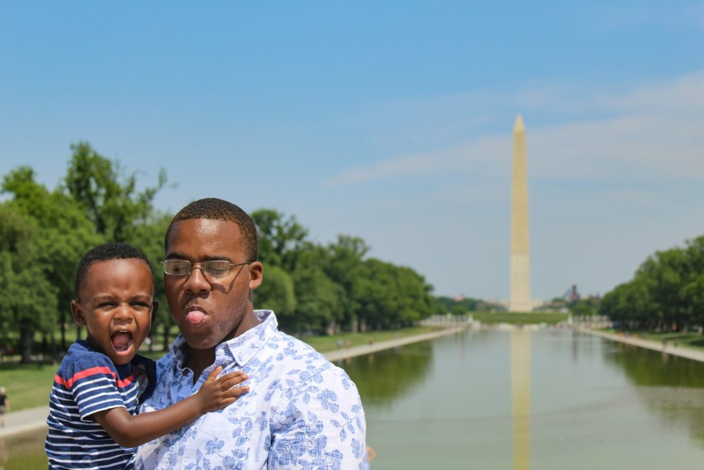 A Family Friendly Guide to Visiting Washington, DC with Kids graphic