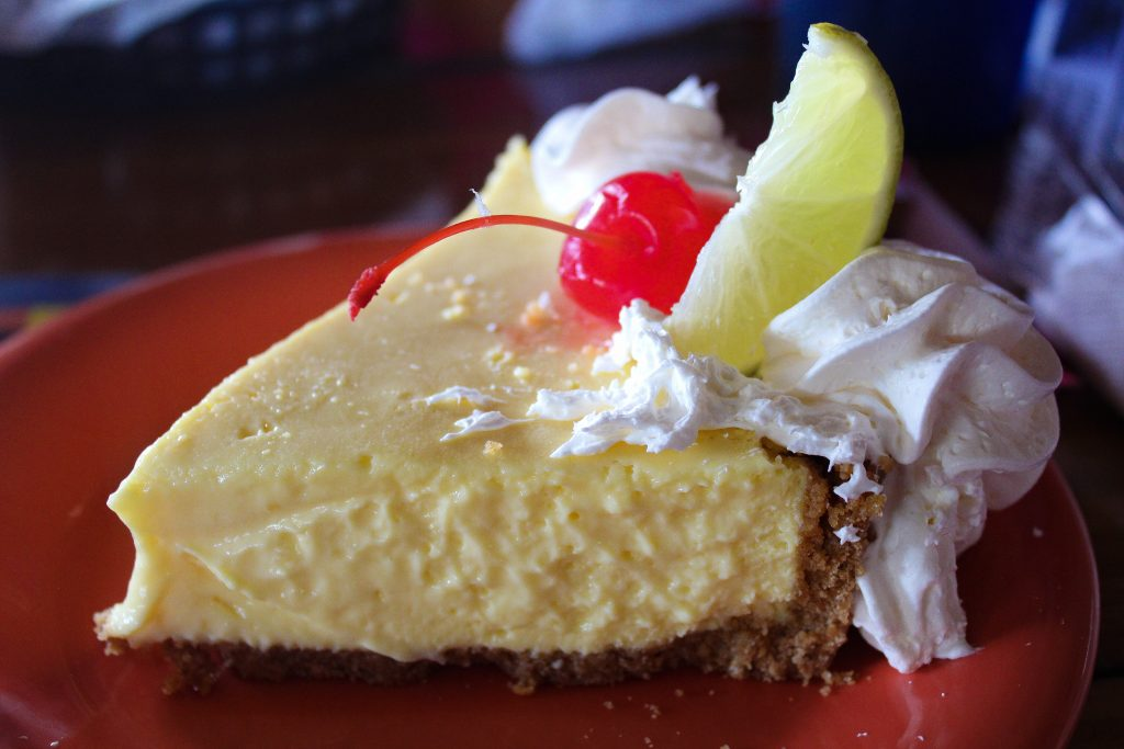 Key Lime Pie Hogfish Bar and Grill Stock Island, Florida
