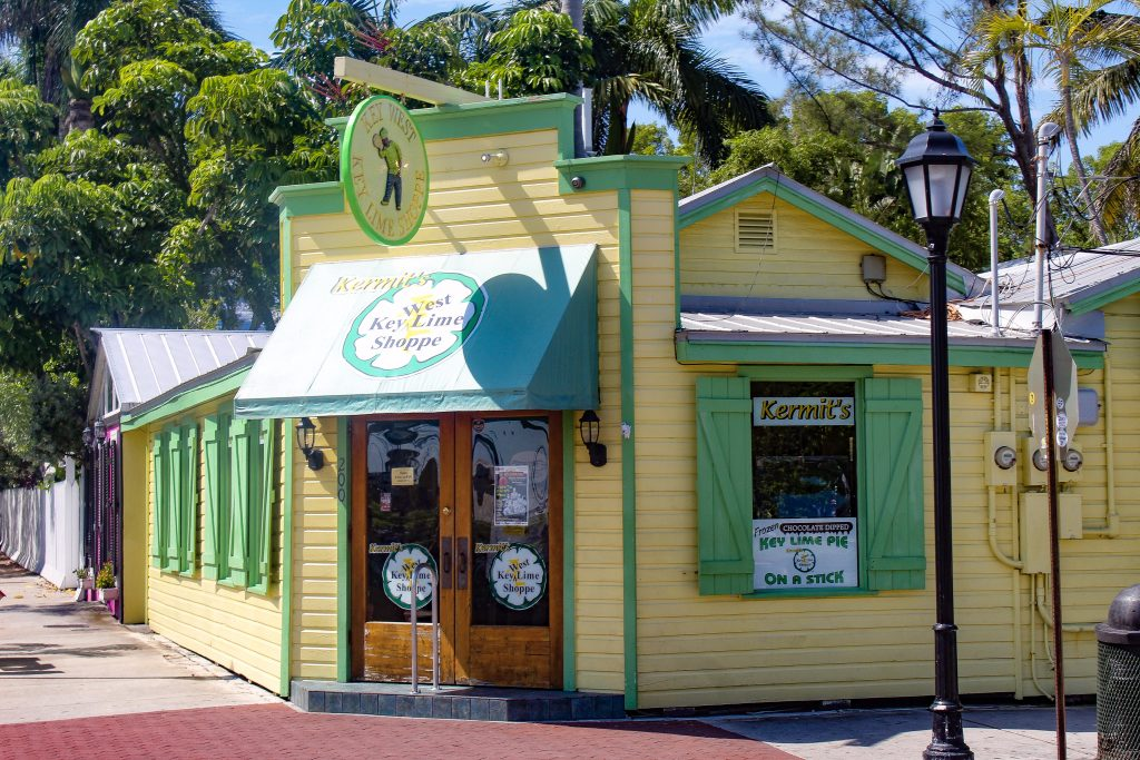 Kermits key lime pie shoppe key west florida road trip