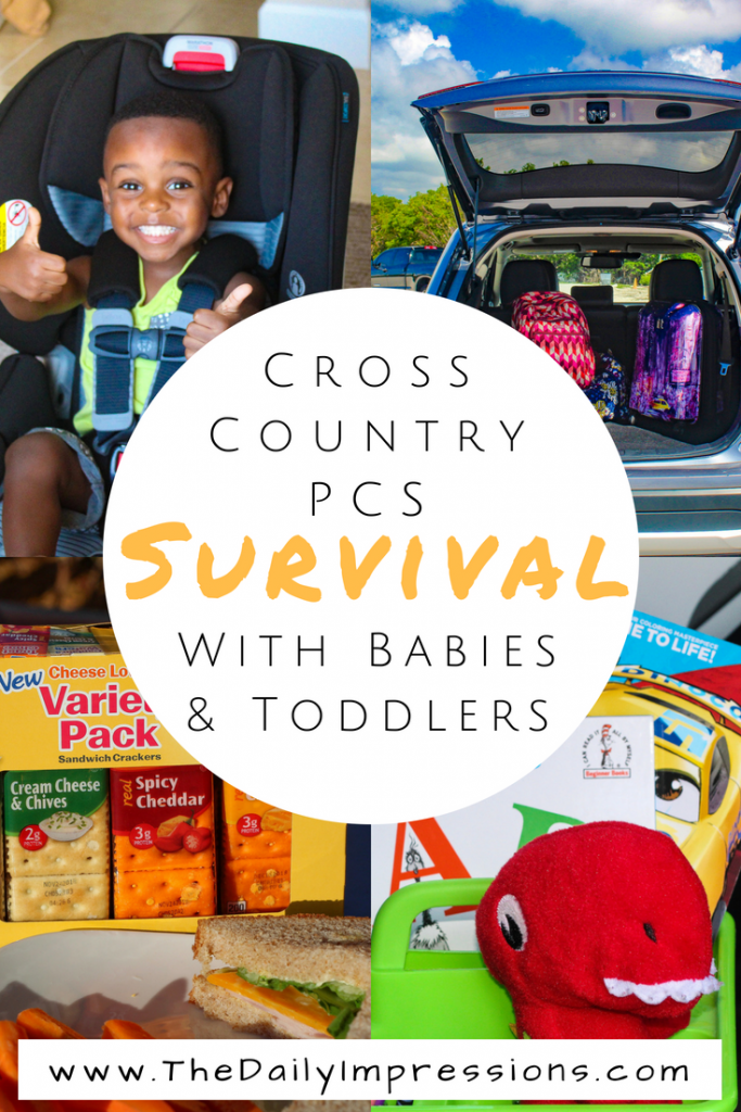 how to survive a cross country pcs with babies and toddlers