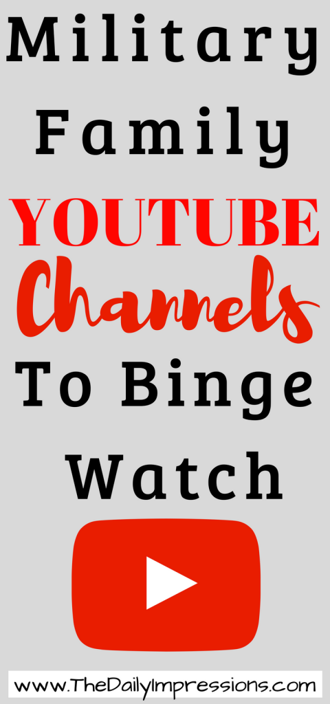 military family youtubers to binge watch