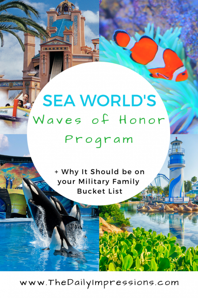 Why the SeaWorld Waves of Honor Program Should be on your Milfamily Travel Bucket List