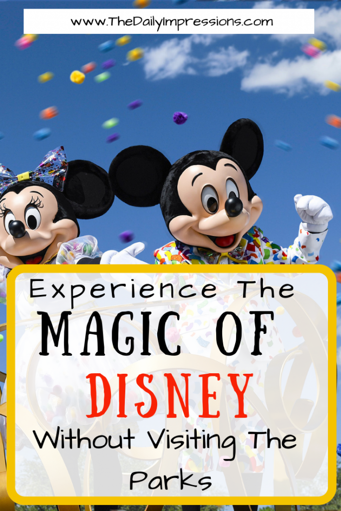 Experience the magic of Disney without visiting the park
