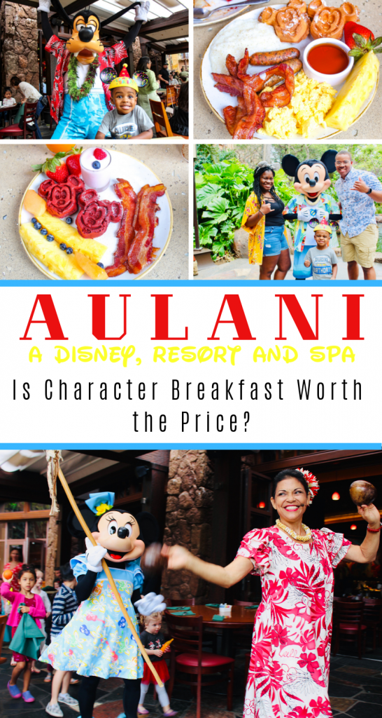 Is Disney's Aulani Character Breakfast at Makahiki Worth the Price? We've broken down everything you need to know about this breakfast at Aulani. You don't have to be a guest of the resort to have a reservation here! #aulani #aulanicharacterbreakfast