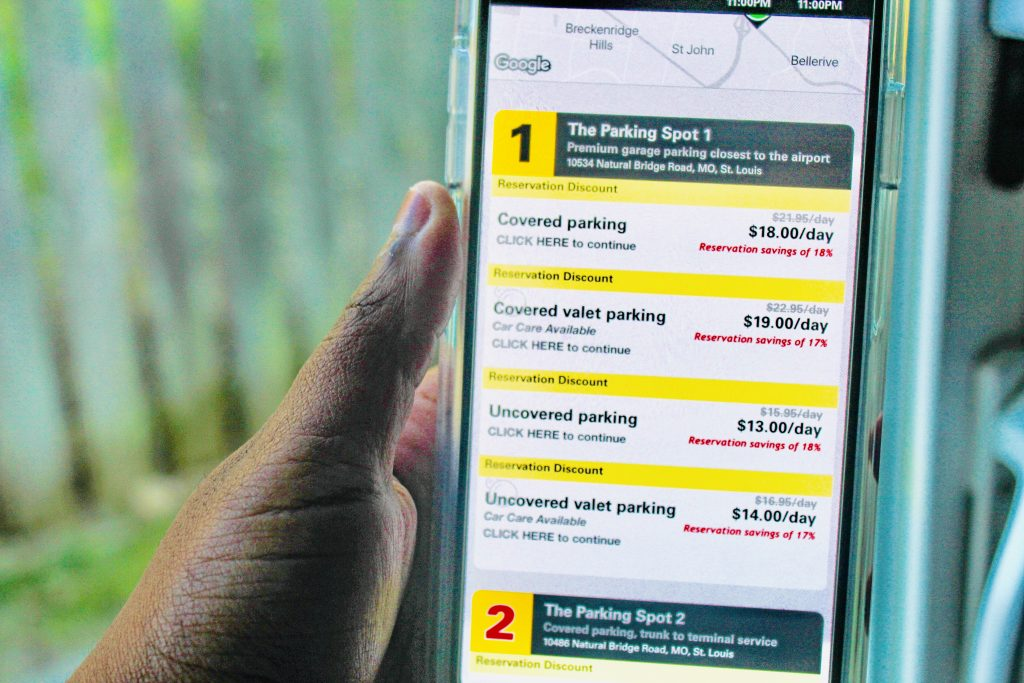 3 Reasons to Use The Parking Spot on Your Next Vacation parking spot prices