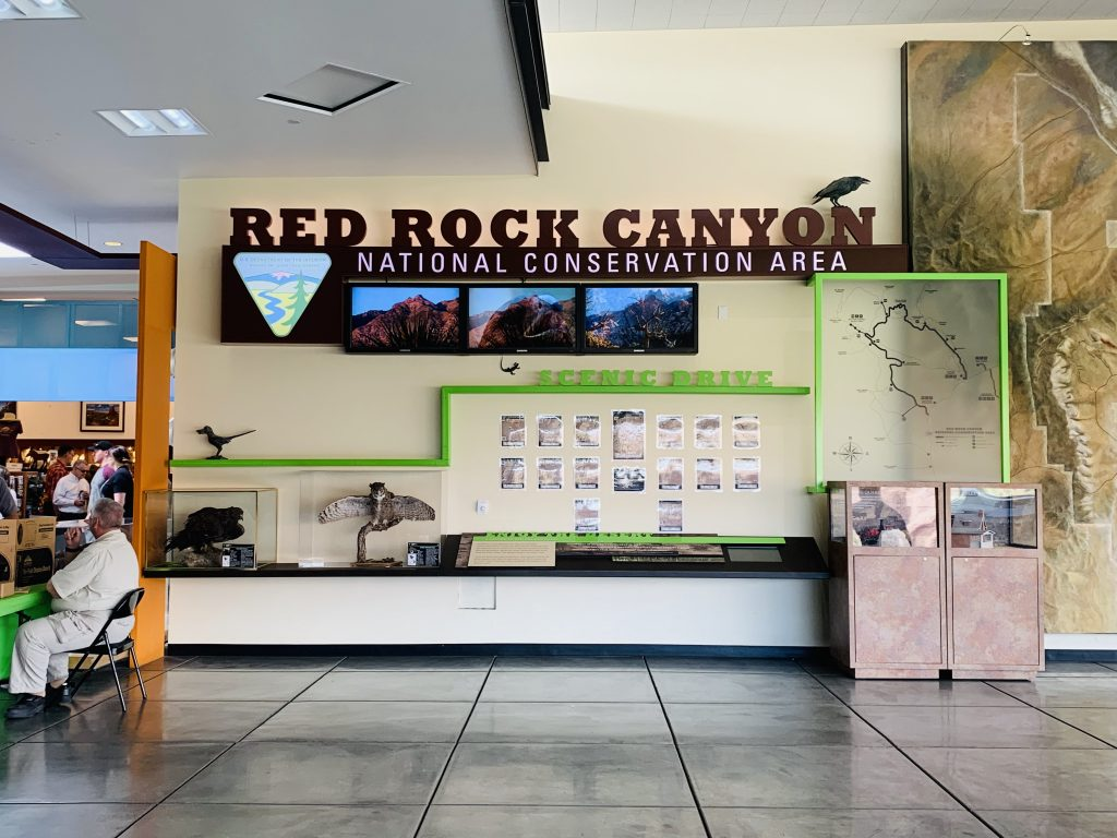 red rock canyon visitors center
