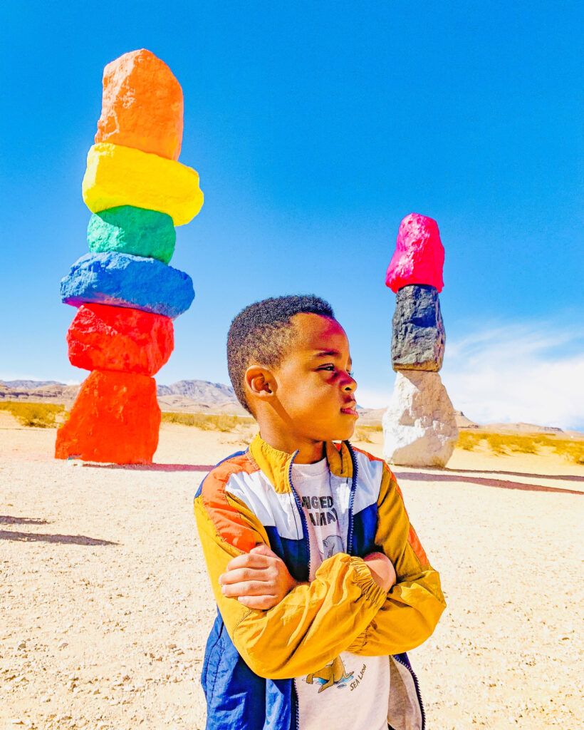 seven magic mountains with kids