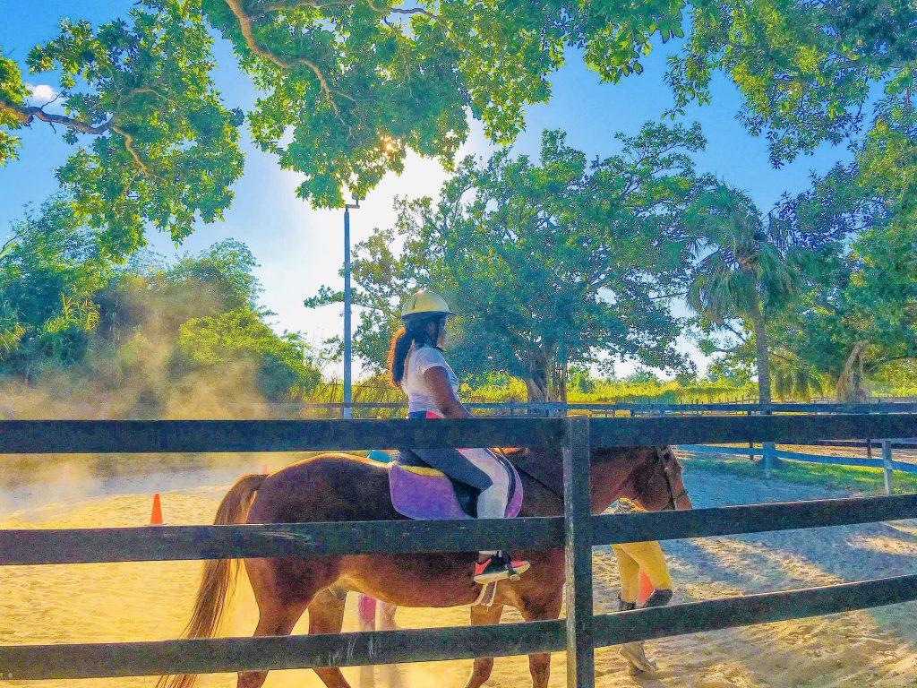 miami hidden gems horseback riding