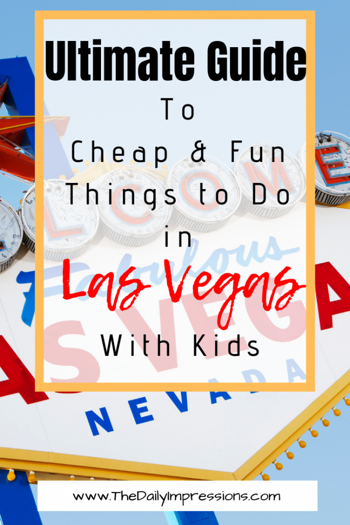 Headed to Las Vegas with your kids but unsure of what to do with your kids while you are there that is kid friendly? We have put together a complete guide to Las Vegas with kids. #familyfriendlyvegas #vegaswithkids #thingstodoinvegas