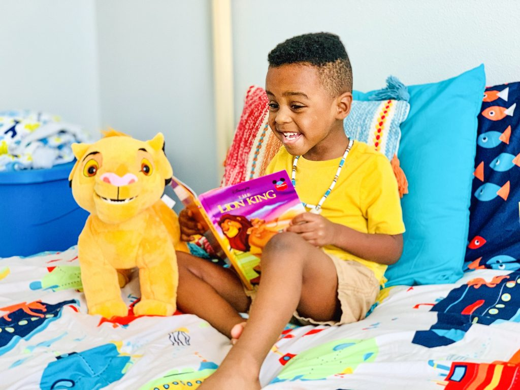 Disney's the lion king is coming to Walmart with toys and accessories. Pictured is Roaring simba