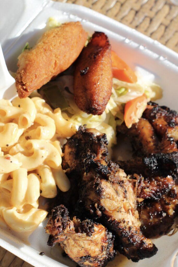 best Jamaican food in Las Vegas big jerk jerk wings