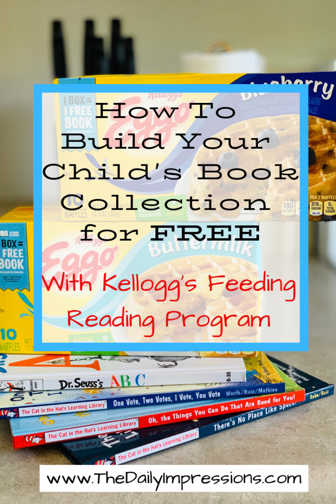 Build Your Child's Book Collection with Kellogg's Feeding Reading