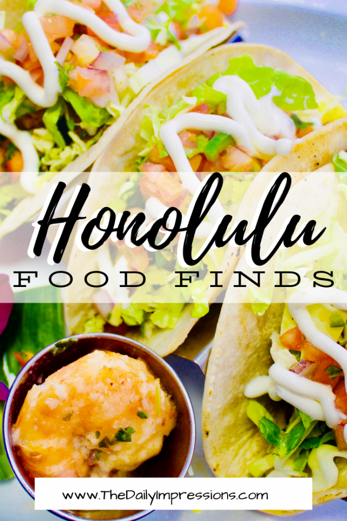 Headed to Honolulu? Make sure you head to these amazing food spots! Our list captures authentic flavors of Hawaii. #foodie #placestoeatinhonolulu #hawaii