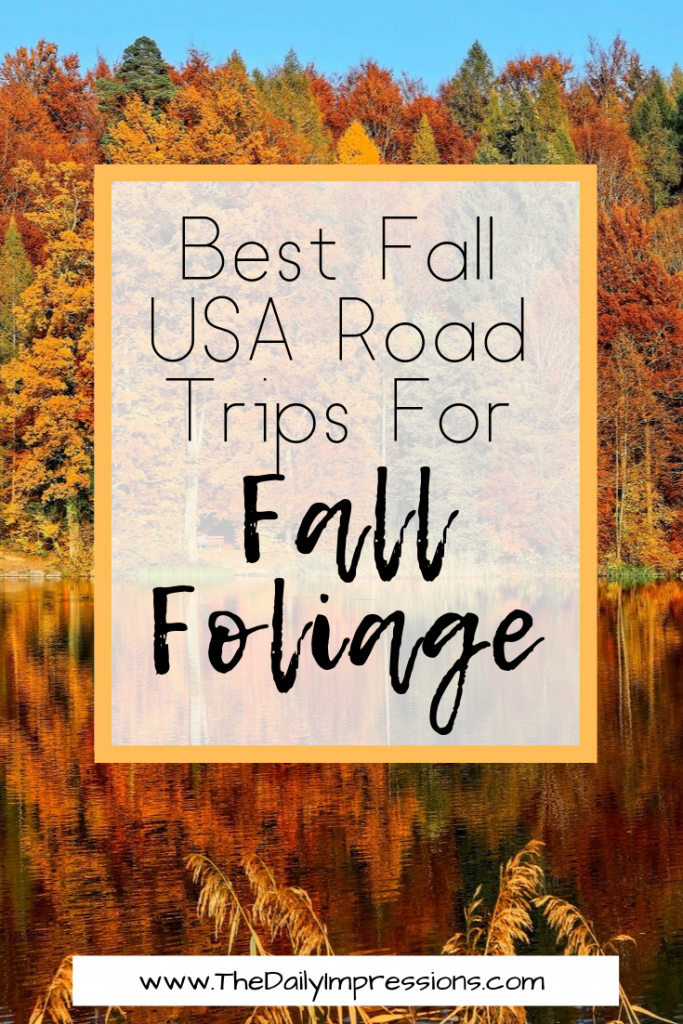 best places to see fall foliage in the USA