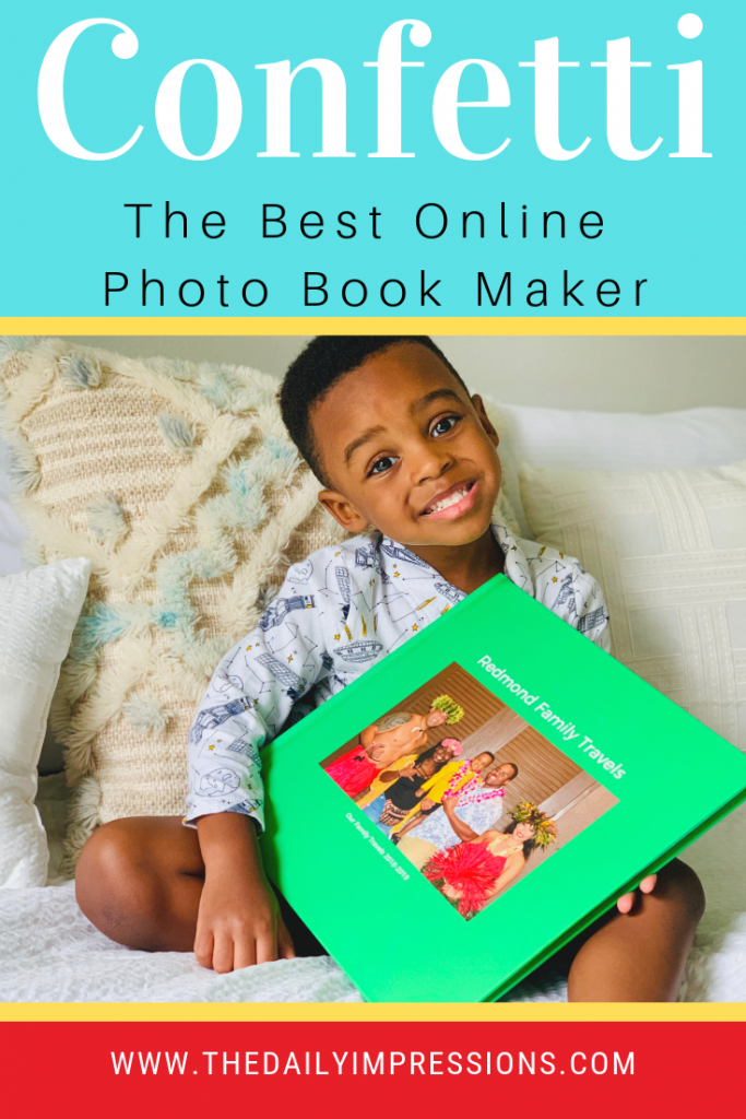 Salvage Your Photo Memories Forever with Confetti Photo Book Maker