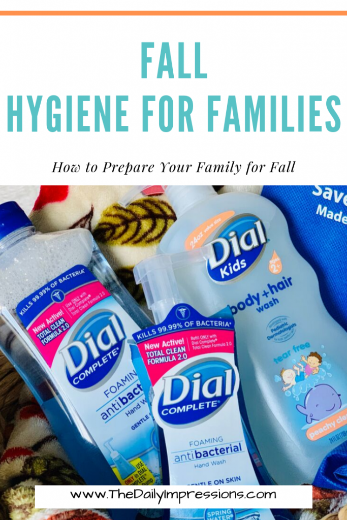 Preparing Your Family for Fall Hygiene with Dial at Walmart