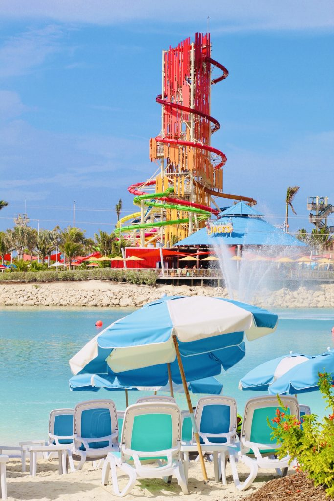 Free things to do at coco cay: lagoon beach