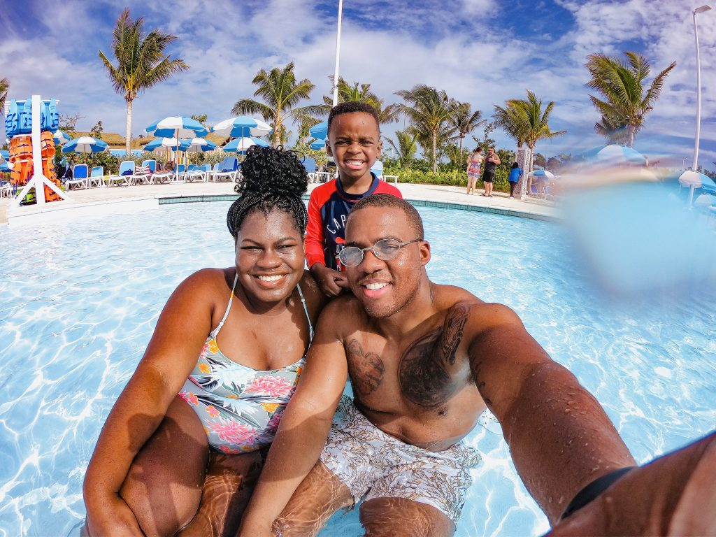 What is Free at Royal Caribbean's Perfect Day at Coco Cay? graphic