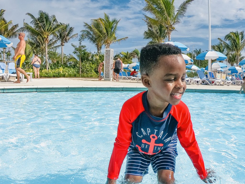 Free things to do at coco cay: Oasis lagoon pool