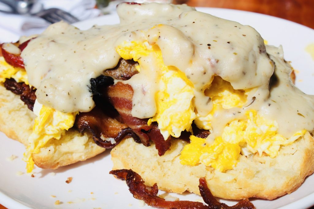 Best Place for Sunday Brunch in St. Louis : Rooster STL Breakfast Slinger