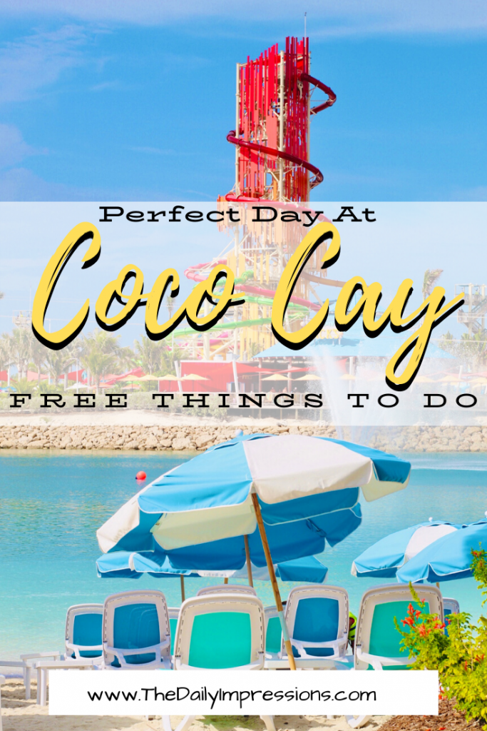 Coco Cay, Bahamas: Free Things to do at Coco Cay