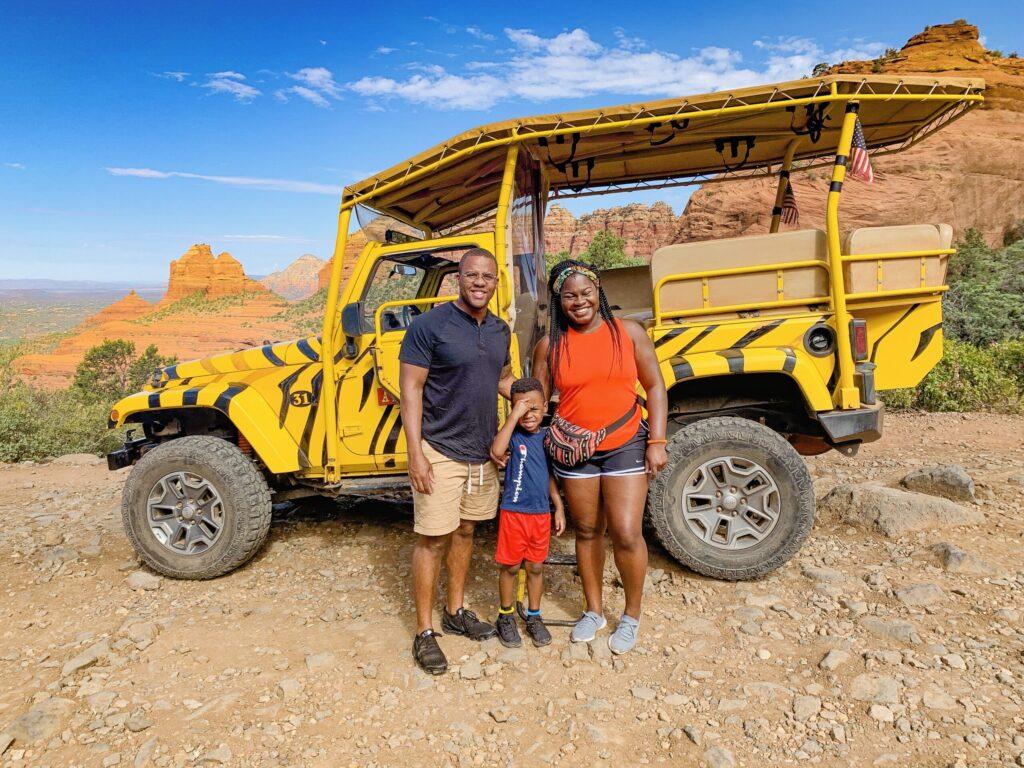 sedona jeep tours with kids