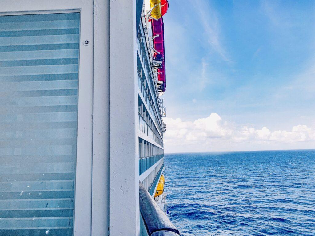 Royal Caribbean Navigator of the Seas Balcony View