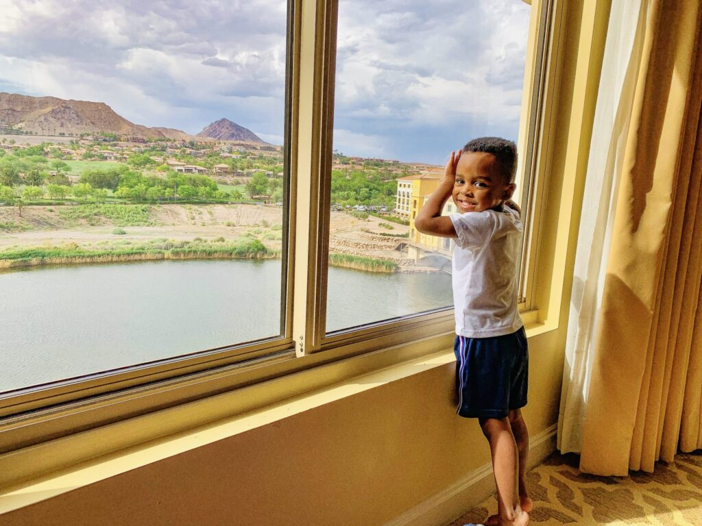 best Las Vegas hotels for families hilton lake Las Vegas