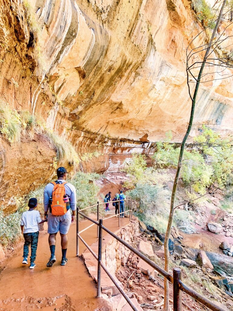 Zion national park best weekend trip from Las Vegas