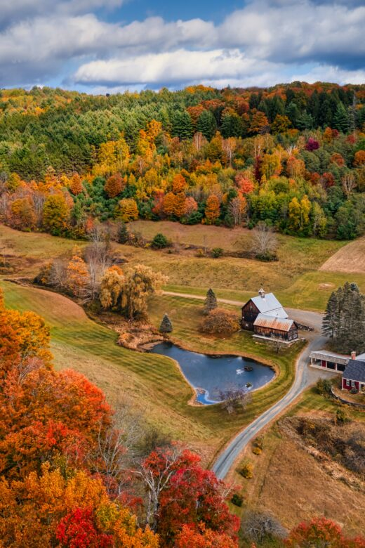 vermont best places to see fall colors