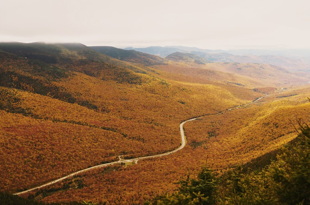 best places to see fall colors New Hampshire