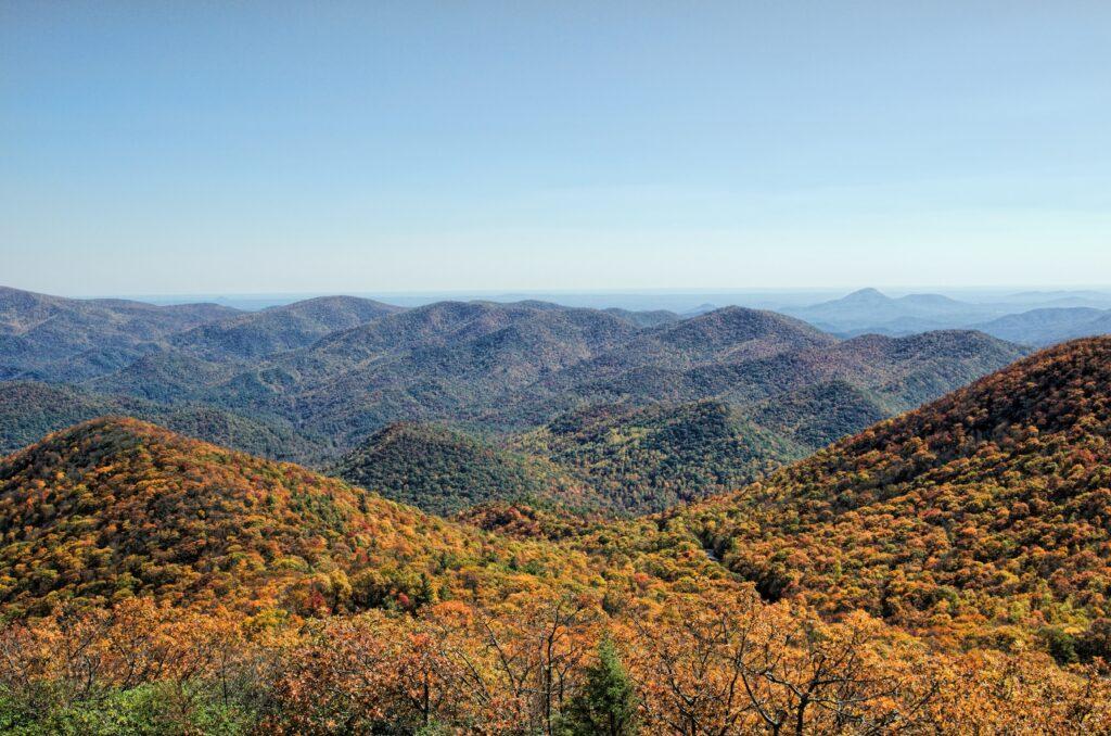 Best Places to see fall colors Georgia