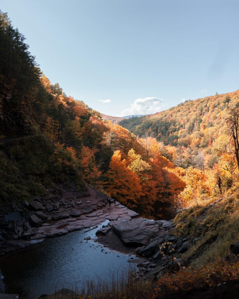 best places to see fall colors New York