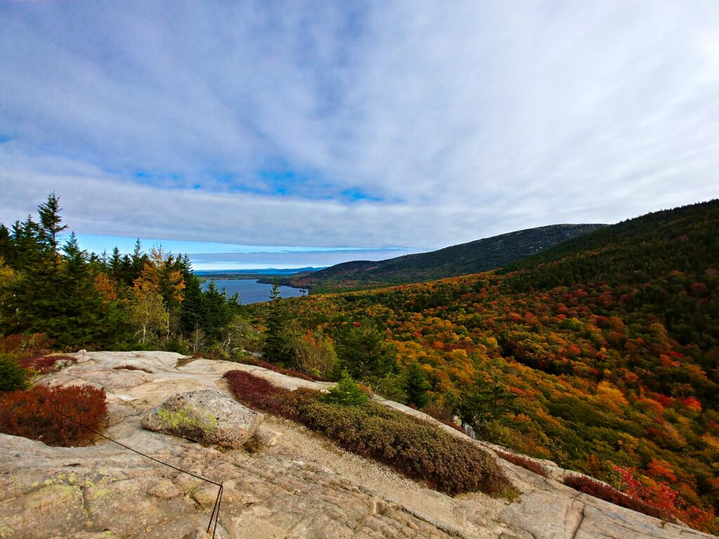 best places to see fall colors Maine
